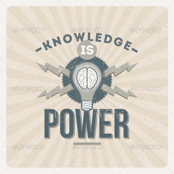 GraphicRiver Knowledge is Power 8373384