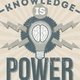 Knowledge is Power - GraphicRiver Item for Sale
