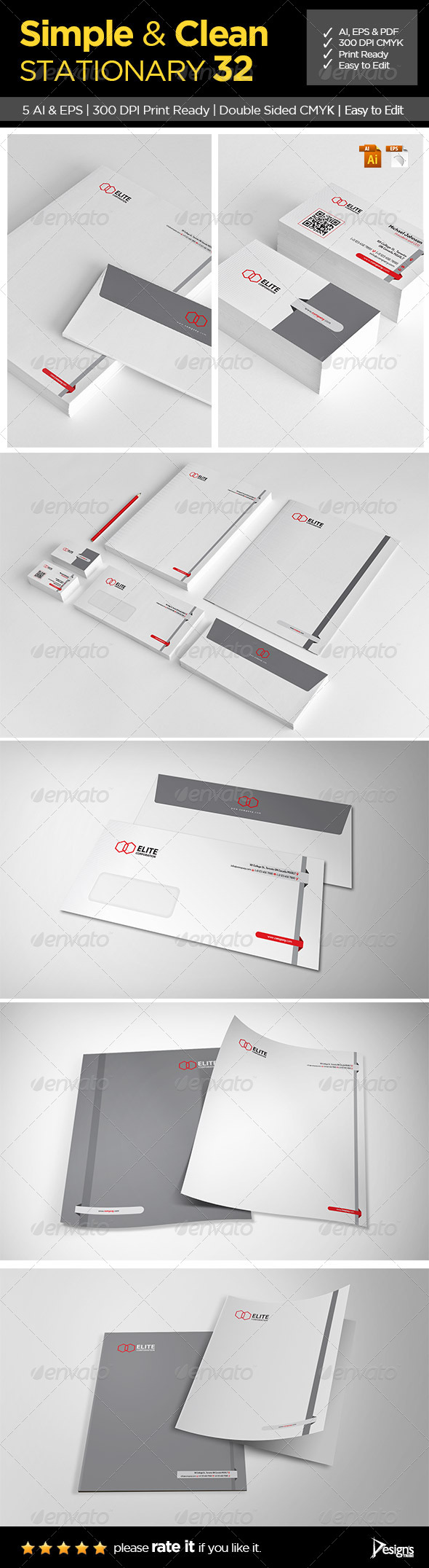 GraphicRiver Stationery 8373393