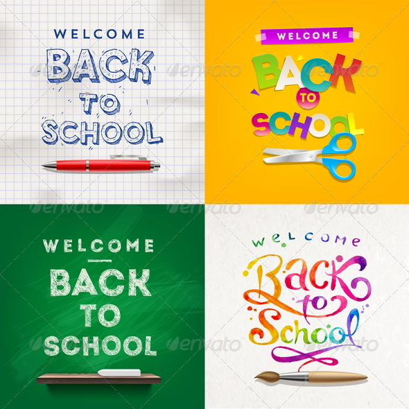GraphicRiver Back to School 8373444