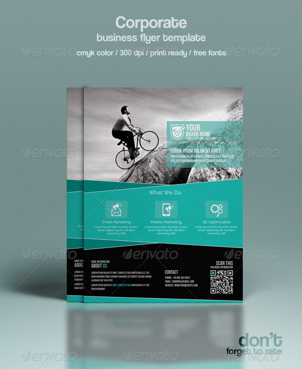 GraphicRiver Corporate Flyer Template 8364518