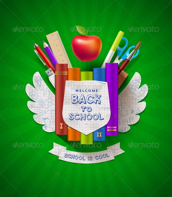 GraphicRiver Back to School 8373553