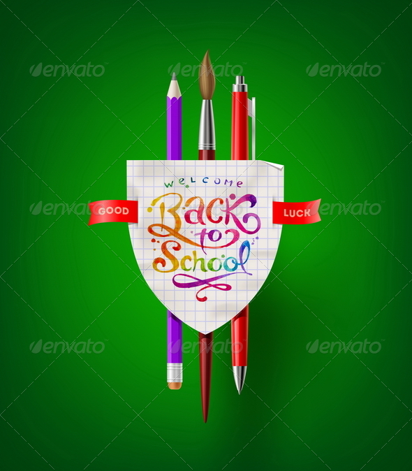 GraphicRiver Back to School Vector Illustration 8373559