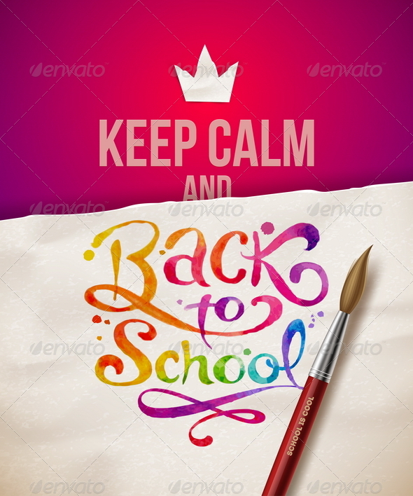 GraphicRiver Back to School Vector Illustration 8373571