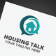 Housing Talk Logo - GraphicRiver Item for Sale