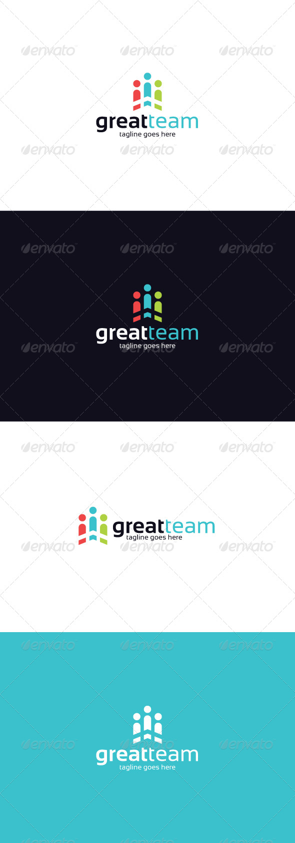 GraphicRiver Great Team Logo 8373596