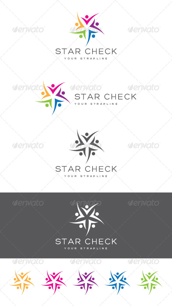 GraphicRiver Star Check Logo 8373702