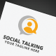 Social Talking Logo - GraphicRiver Item for Sale