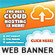 Cloudy Web Banner Design