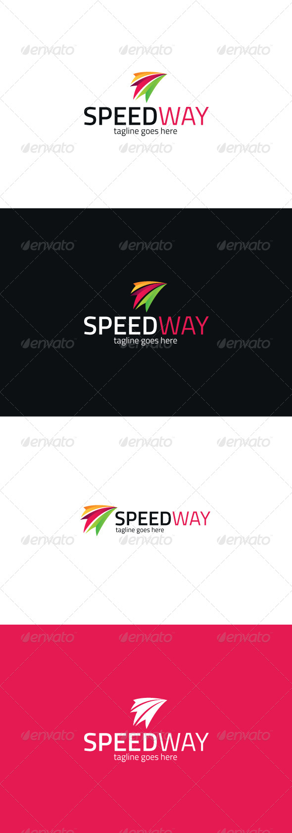 GraphicRiver Speed Way Logo 8373900