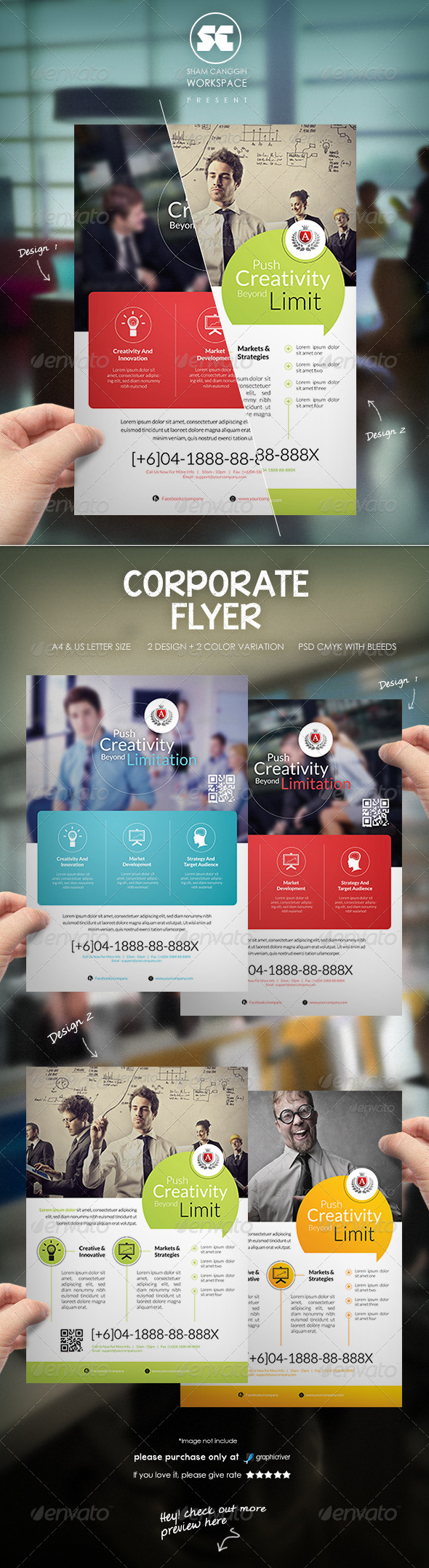 GraphicRiver Corporate Business Flyer 8373935