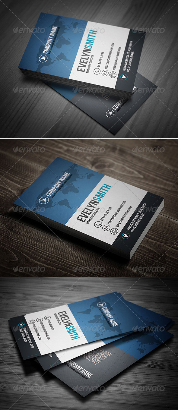 GraphicRiver Global Business Card Vol 01 8365330