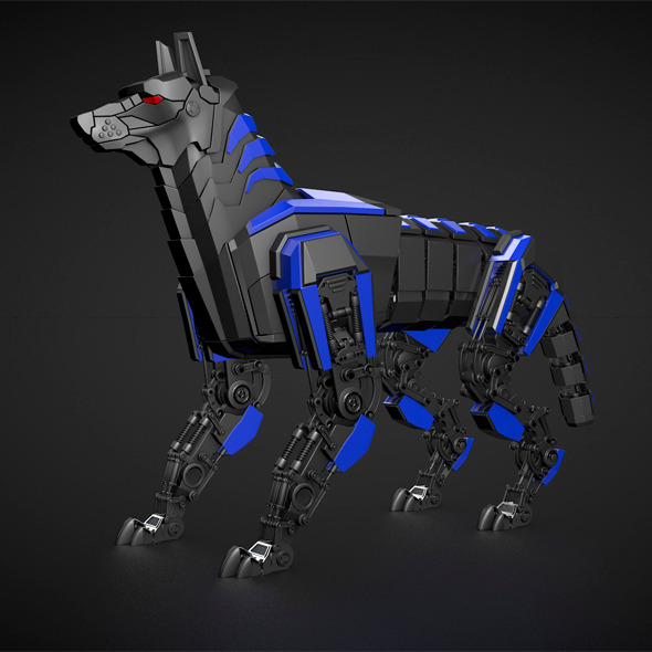 3DOcean Robot dog 8374077