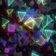 Glowing Pyramids Particles - VideoHive Item for Sale
