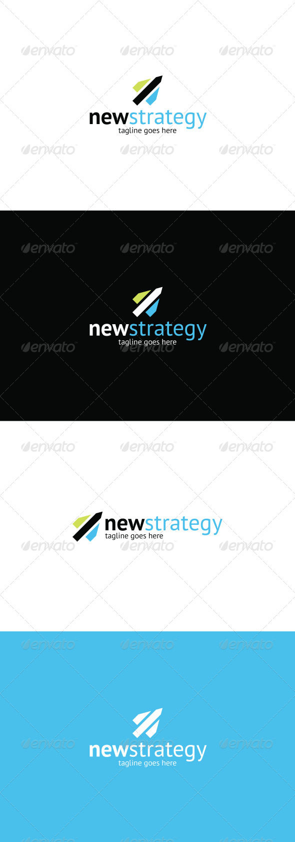 GraphicRiver New Strategy Logo 8374384