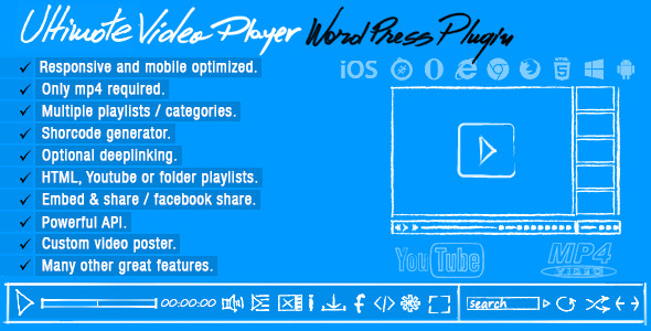 CodeCanyon Ultimate Video Player Wordpress Plugin 8374433