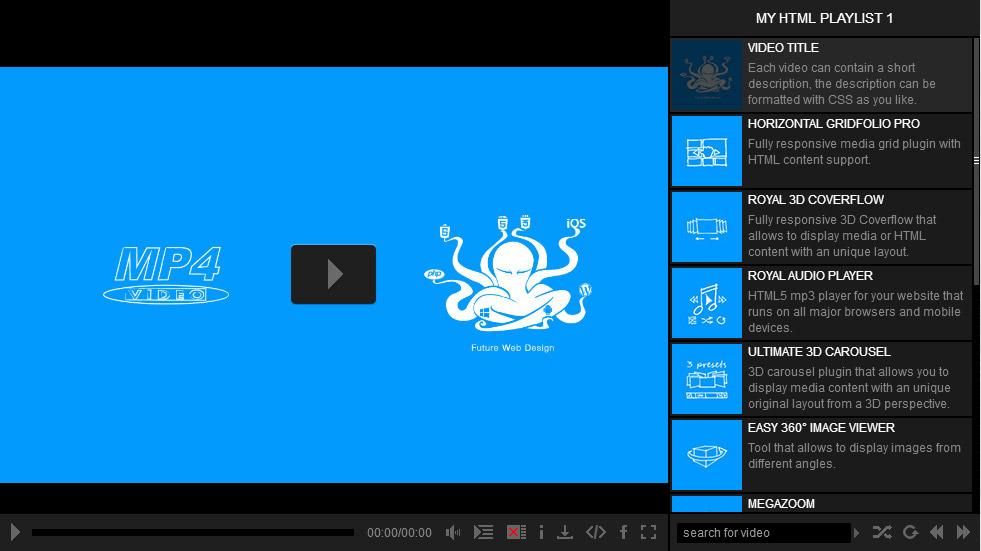 Ultimate Video Player Wordpress Plugin By Fwdesign