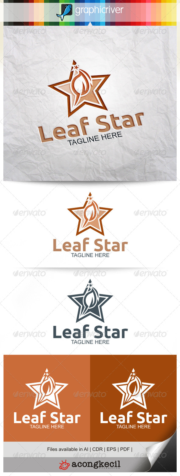 GraphicRiver Leaf Star V.4 8374532