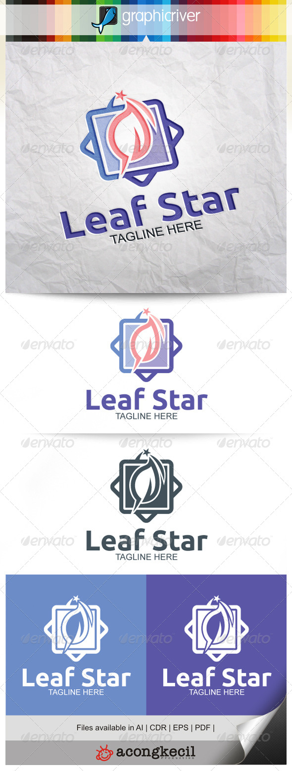 GraphicRiver Leaf Star V.5 8374535
