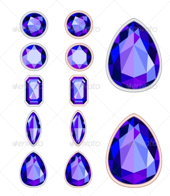 GraphicRiver Gemstones 8374643