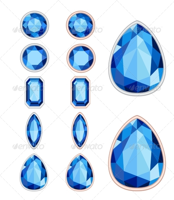 GraphicRiver Gemstones 8374644