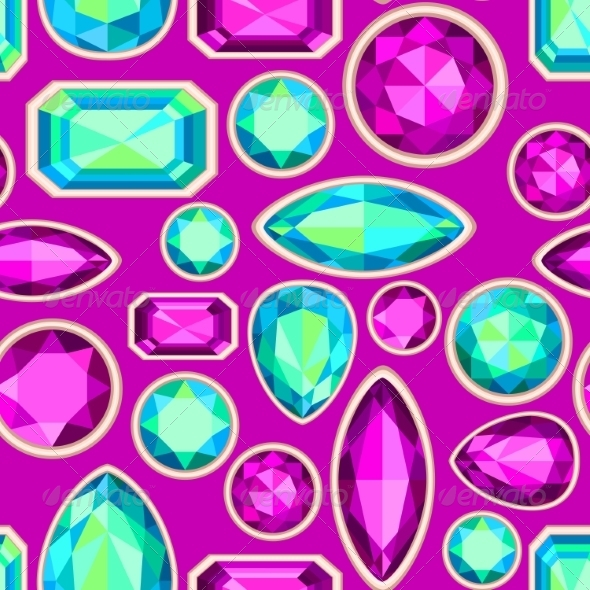 GraphicRiver Gemstone Pattern 8374695