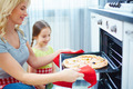 Mother and daughter cooking - PhotoDune Item for Sale