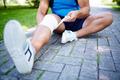Bandaging leg - PhotoDune Item for Sale