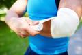 Bandaging arm - PhotoDune Item for Sale