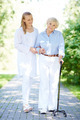 Walking with patient - PhotoDune Item for Sale