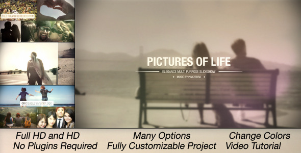 Pictures Of Life Multi Purpose Slideshow