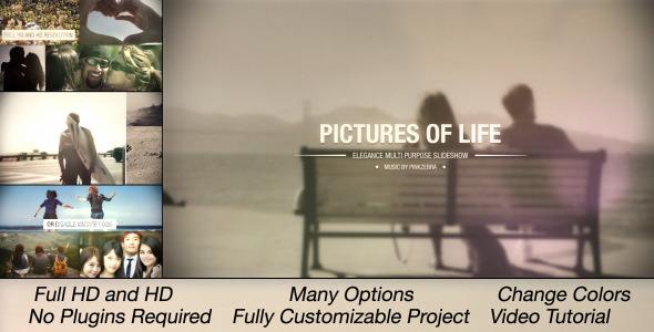 Pictures Of Life Multi Purpose Slideshow