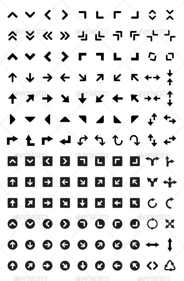 GraphicRiver Arrow Icon 8374964