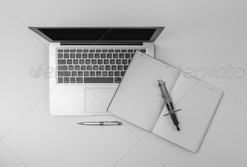 Designer workstation header - PhotoDune Item for Sale