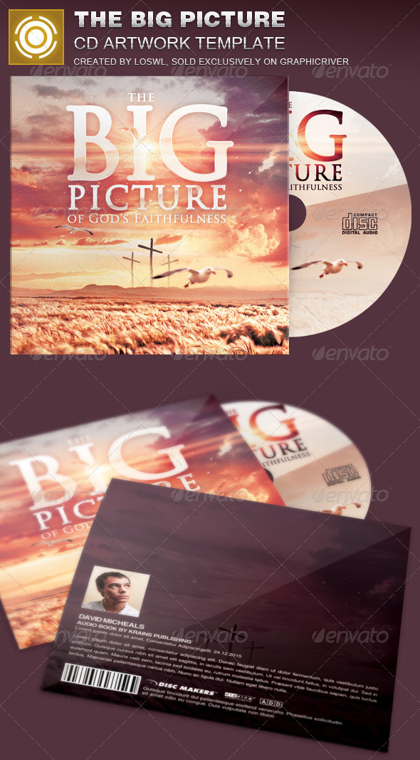 GraphicRiver The Big Picture CD Artwork Template 8375099