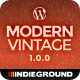 Modern Vintage | Premium One Page WordPress Theme - ThemeForest Item for Sale