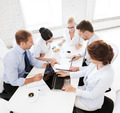 business team having meeting in office - PhotoDune Item for Sale