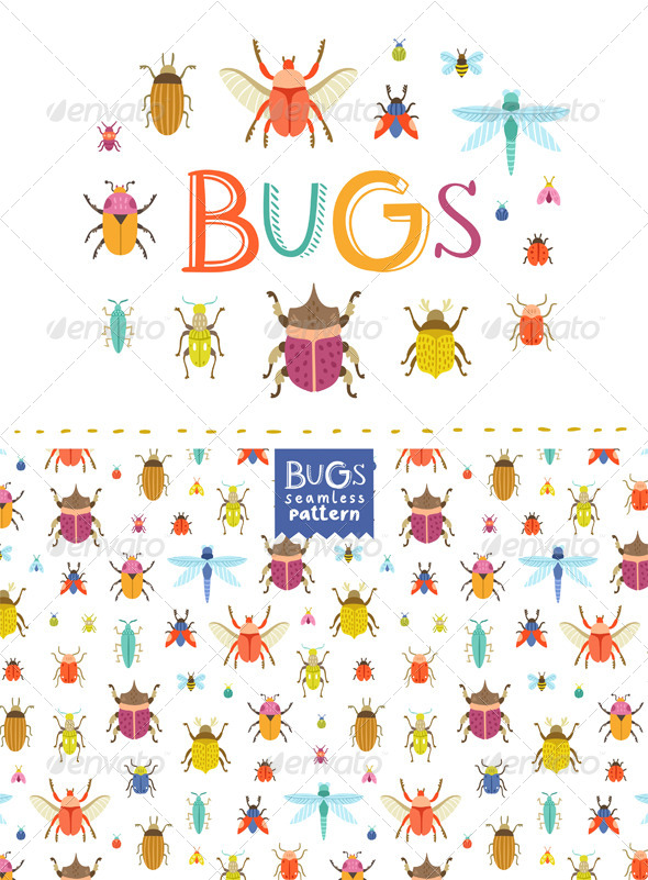GraphicRiver Bugs 8375275