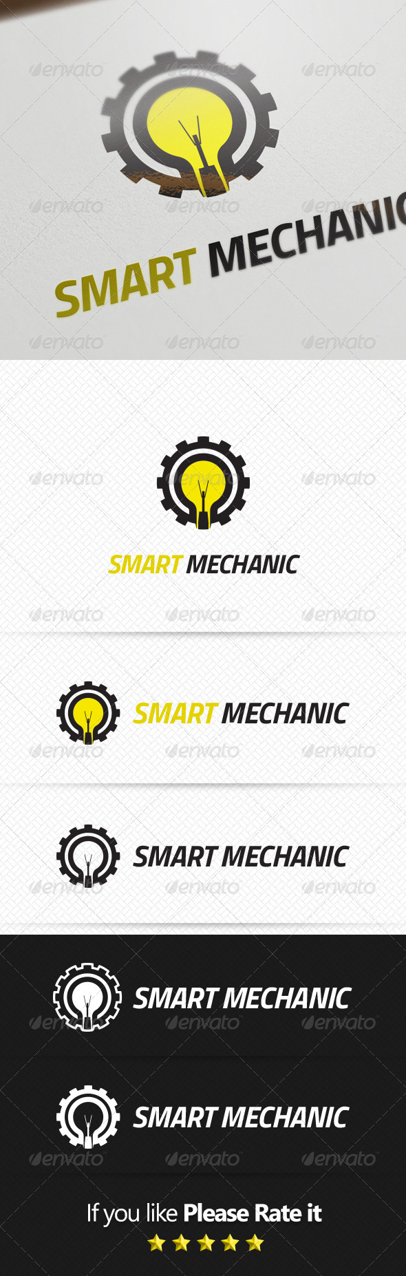 GraphicRiver Mechanic Logo Template 8156626