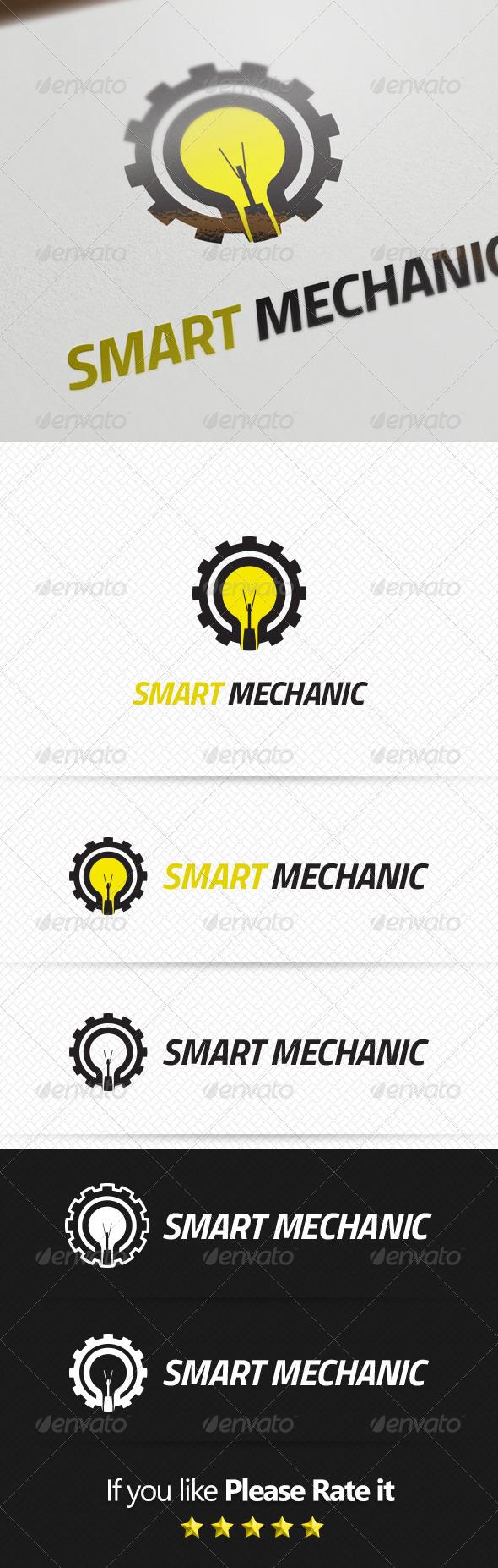 GraphicRiver Mechanic Logo Template 8156626