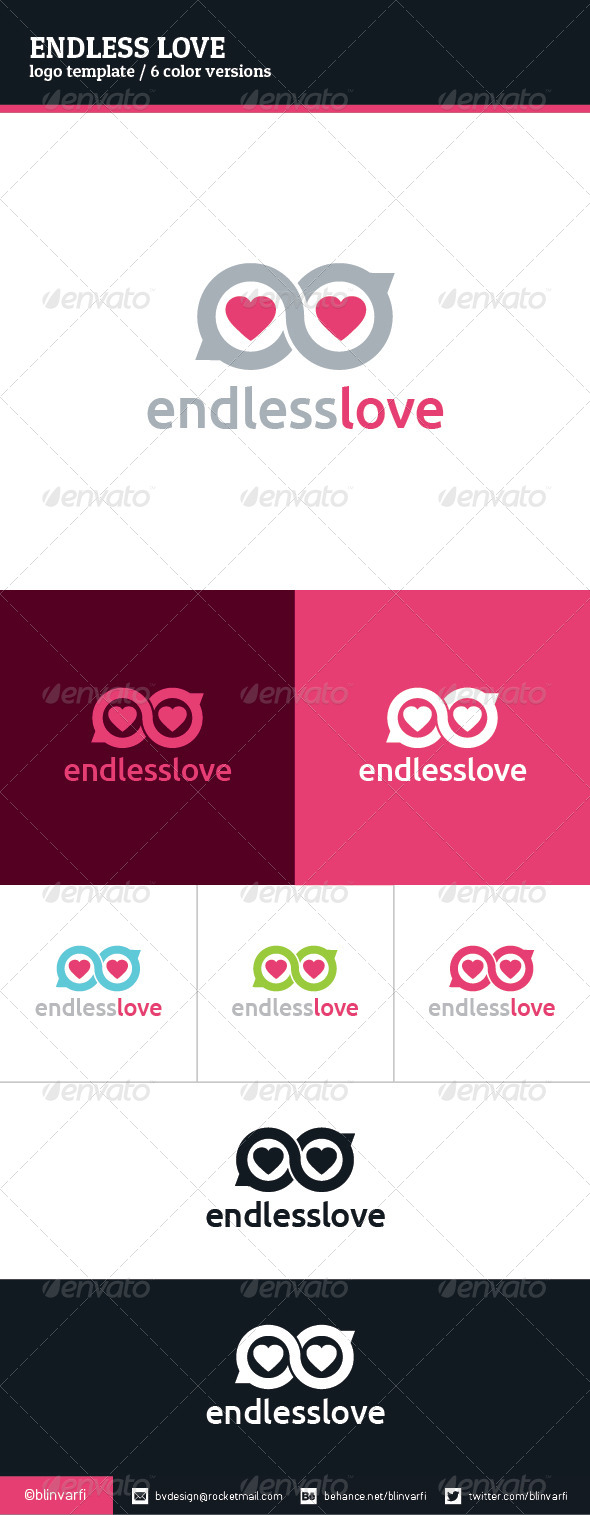 GraphicRiver Endless Love Logo Template 8375542