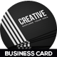 Creative Business Card Design - GraphicRiver Item for Sale