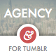 Agency Tumblr Theme for Business Blogs - ThemeForest Item for Sale