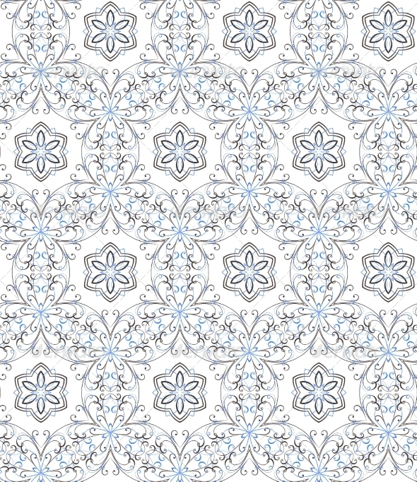 GraphicRiver Floral Seamless Pattern 8375736