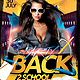 Back 2 School Party Flyer