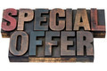 special offer in wood type - PhotoDune Item for Sale