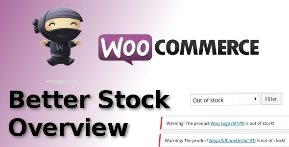 CodeCanyon WooCommerce Better Stock Overview 8376601