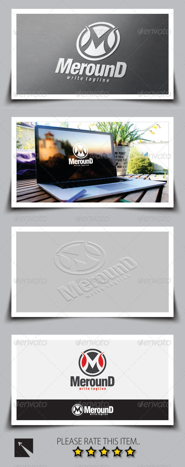 GraphicRiver Letter M Logo Template 8376674