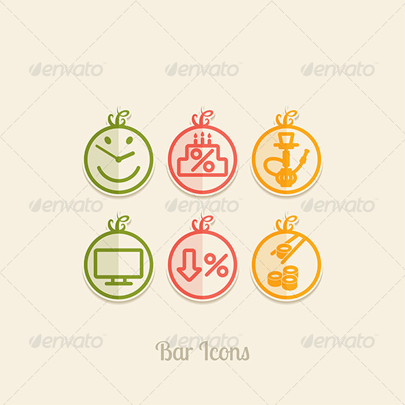 GraphicRiver Bar Icons 8376752