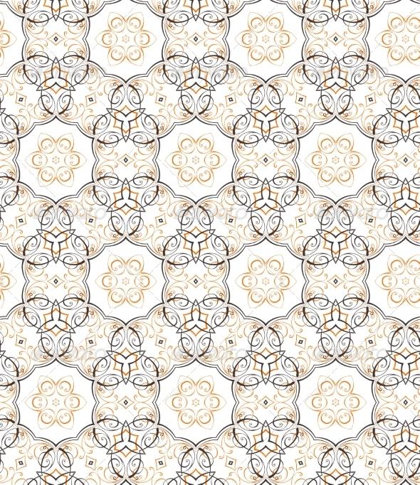 GraphicRiver Floral Seamless Pattern 8376774